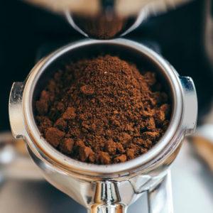 Kaffe malet, portionsförpackat